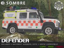 Sombre Defender (Fire / Rescue / Ambulance / Utility / GTFO)