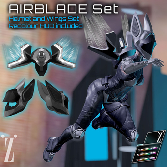 [inZoxi] - AIRBLADE Helmet and Wings