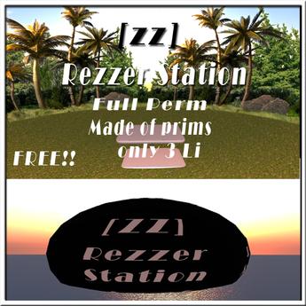 [zz]Rezzer station-3LI full perm (free gift)