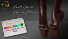 ~GD~Swish Swish(Square Pedi - Legacy Mesh Feet (f)