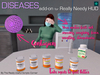 Diseases add-on for Really Needy HUD