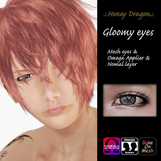 .:.H/D.:. Gloomy eyes // HAZEL [20GBE4]