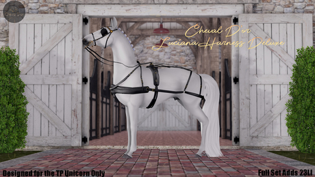 Cheval D'or / TeeglePet Unicorn / Luciana Harness. (Boxed)