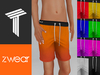 ZWEAR Tweenster Swimwear - Plain Colors - Unisex Swim Shorts