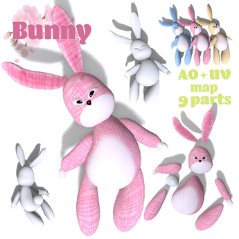 [ FULL PERM ] Happy Easter BUNNY KIT