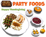 [ FULL PERM ] Thanksgiving Party Foods / Mesh Object ONLY