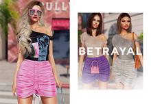 BETRAYAL. Adeli Outfit FATPACK *GIFT* Maitreya, Hourglass, Freya, Legacy