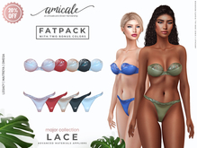 Lace Lingerie ➔ FATPACK *materials   bom   rlv*