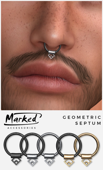 MARKED - Geometric Septum