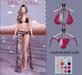 .::Dead Dollz::. Dharma Bikini - Fuchsia
