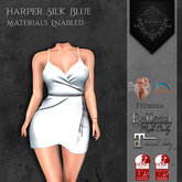 **Mistique** Harper Silk Blue{wear me and click to unpack)