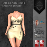 **Mistique** Harper Silk Taupe{wear me and click to unpack)