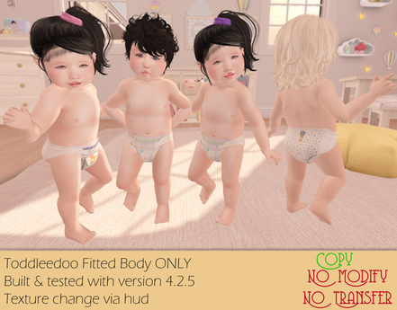 [Back to Basics] Diaper for ToddleeDoo Fitted
