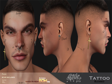 ONE 2K  - Tattoo Face and scar /  BOM system