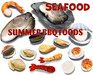 [ FULL PERM ] SEAFOOD / Summer BBQ Foods