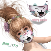 Face Mask - Kitty Cat