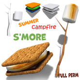 [ FULL PERM ] Summer S'More Campfire