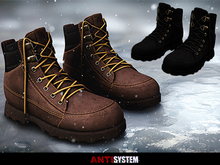 antisystem // Frost Boots - Black