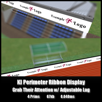 KI Perimeter Ribbon Display *0.040ms* Grab Their Attention!