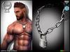 *COX* Padlock Chain Necklace