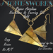 Paper Airplane Necklace Earring Set Gld Stone's Works