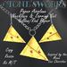 Paper Airplane Necklace Earring Set Ylw Stone's Works