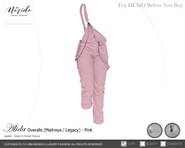~Nerido~ Alida Overalls-Pink