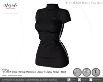 ~Nerido~ Elba Dress - Black