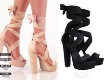 TETRA - Sophia Heels (Black)