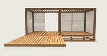 ValArt modern gazebo wood