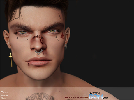 ONE 2K  - Tattoo Face and Hurt  /  BOM system