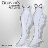 DENVER'S Fashion  Aria Gown White