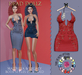 Dead Dollz - Gia Dress - Red