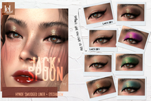 Jack Spoon .Hynde Smudged liner + eyeshadow - lel Evo