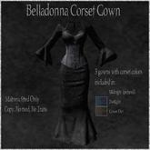 Belladonna Corset Gown/ By: Infernal Alchemy