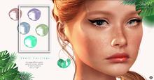 Swan Shell Earrings - 5 colours