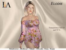 LA-Dress Elodie Unpack Mauve