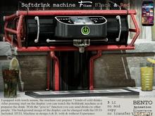 No59 F-class Sodrdrink machine Black