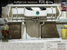 No59 F-class Sodrdrink machine White