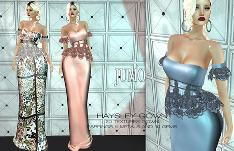 JUMO - HAYSLEY Gown - Maitreya Belleza Slink - ADD ME