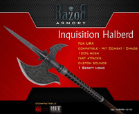 ..::Razor::.>> Inquisition Helberd <<<<(BOXED)
