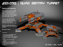 solares >> Quad Sentry Turret