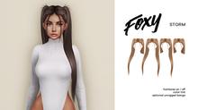 Foxy - Storm Hair (Grayscale)