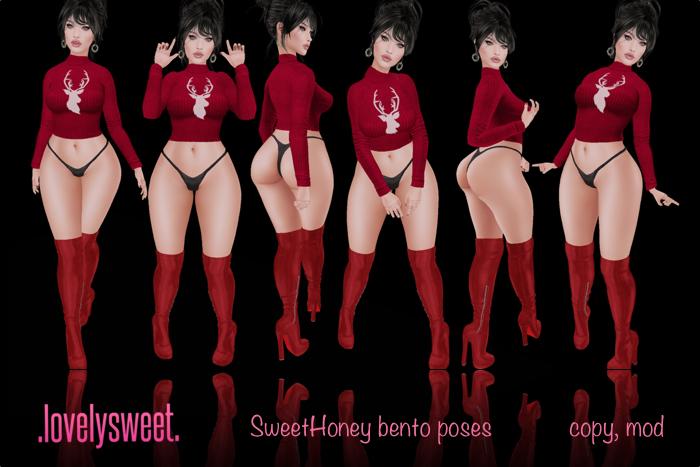 .lovelysweet. SweetHoney Pose Set  GIFT
