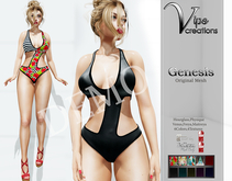 [Vips Creations] - DEMO - Original Mesh Swimsuit - [Genesis]FIT