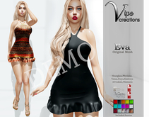 [Vips Creations] - DEMO - Original Mesh Dress - [Eva]FITTED