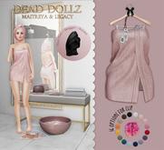 Dead Dollz - Me Time Towels - Blush