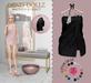 Dead Dollz - Me Time Towels - Black