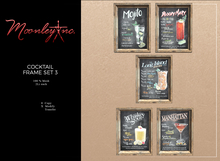 Moonley Inc. - Cocktail Frame Set 3