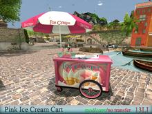 EasyDecor Pink Ice Cream Cart BOX